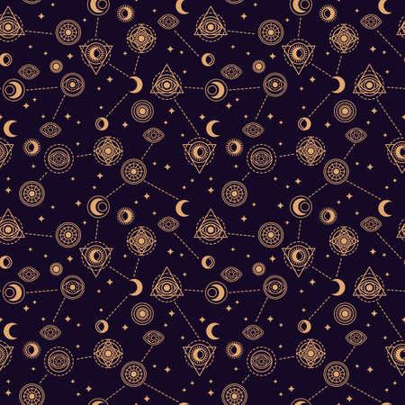 Alchemy night pattern