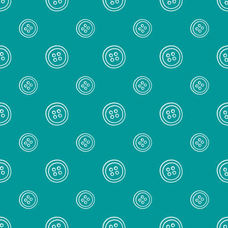 Seamless pattern with clothing buttons. Vector illustration in doodle style