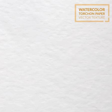 Aquarelle papier torchon de texture granuleuse. Vecteur de fond Vecteurs