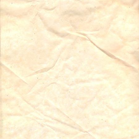 arrugas: Amarillo antiguo textura de papel arrugado con las arrugas