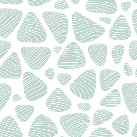 pebble: Pebble seamless background. Subtle texture with round shapes and flow lines, repeating fabric print for spring summer fashion season.