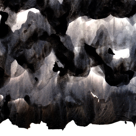 overlays: Black ink background with brush strokes overlays, Abstract texture