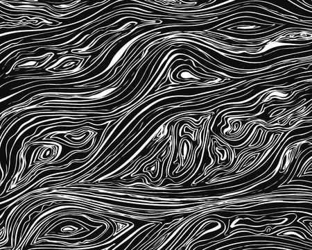 라인 배경. 손으로 벡터 텍스처 그려진 된 잉크 물결 모양의 획. 단색 배경 스톡 콘텐츠 - 83683672