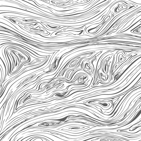 Line background. Vector texture with hand drawn ink wavy strokes.