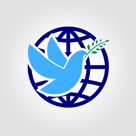 paloma: Paloma de la Paz ilustraci�n vectorial