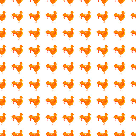 agriculture wallpaper: Abstract pattern with chicken. Design element in vector.
