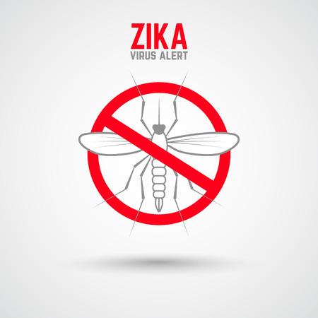 transmitted: Zika virus alert. Moskit with phrase Zika virus alert. Danger for pregnant. Zika virus.
