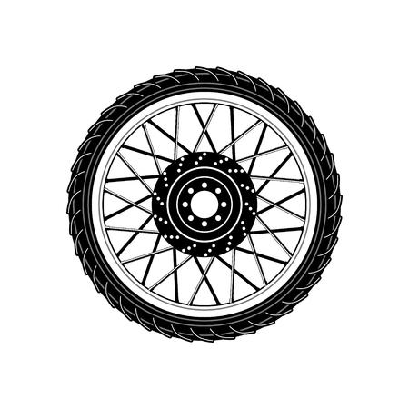 Wheel Icon.  Wheel Icon sign. Design element in vector.