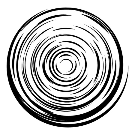 hypnotism: Abstract circle background. Radial lines background. Comic book vector explosion. Design element in vector. Illustration