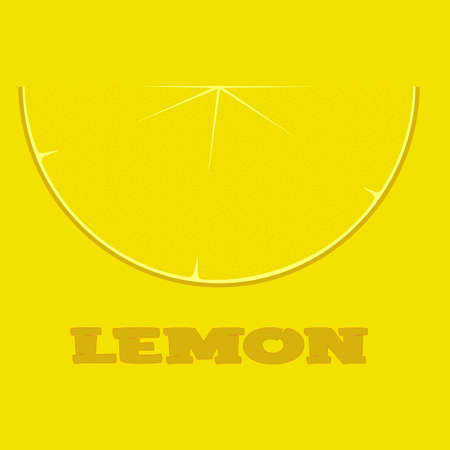 lemon slice logo on a yellow background with the inscription 2