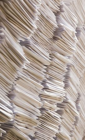 addressee: Considerable quantity of paper post envelopes