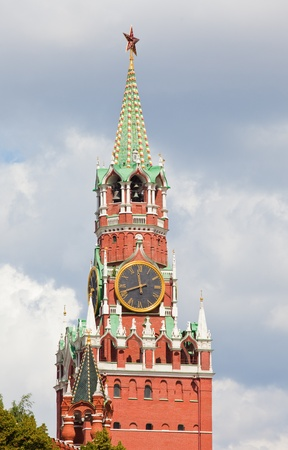 Russia. The Moscow Kremlin. A Spassky tower. Stock Photo - 11597928