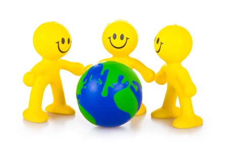 mankind: Three persons have control over globe. The concept of association of mankind for life preservation on the Earth