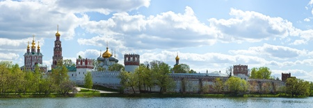 Novodevichy convent in the early morning. Moscow. Russia. Stock Photo - 13428690