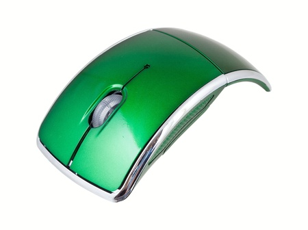 Optical mouse for pc  Isolated on white background Stock Photo - 18705646