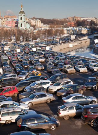 exceeds:  Road jams arise because of a large number of transport which exceeds the maximum capacity of roads in the city
