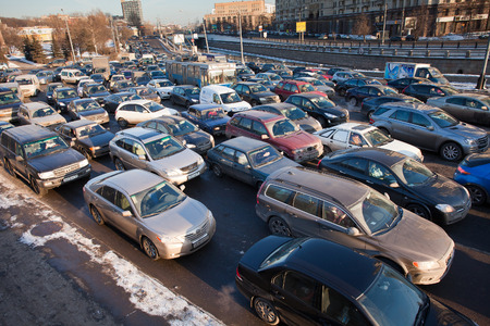 arise:  Road jams arise because of a large number of transport which exceeds the maximum capacity of roads in the city