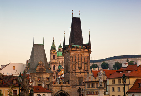 Stare Mesto (Old Town) view, Prague, Czech Republic Reklamní fotografie