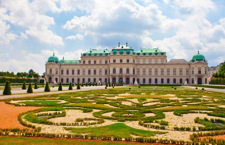 Schonbrunn palace in Vienna Austria Editorial