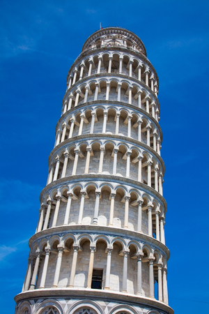 World famous Tower of Pisa, Italy