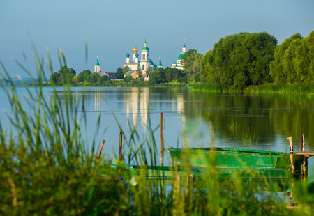 View of the Monastery of St. Jacob Saviour, Rostov the Great, Russia