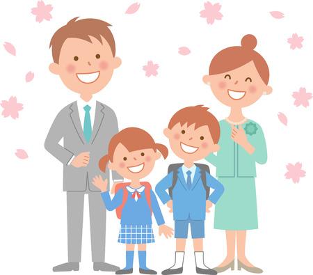 4 person family ceremony body.