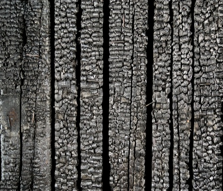 burnt wood: upright burnt the board. The texture.