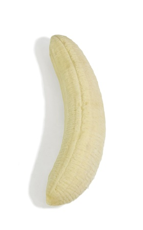 peeled banana isolated on white background Stock Photo - 11873162