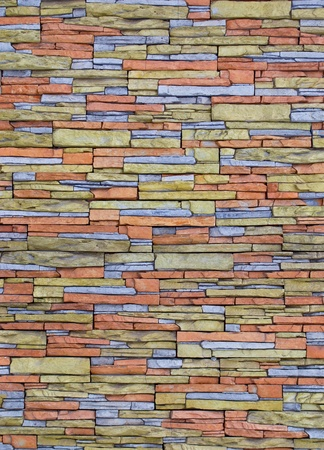 architectural feature: texture-colored pebbles. masonry