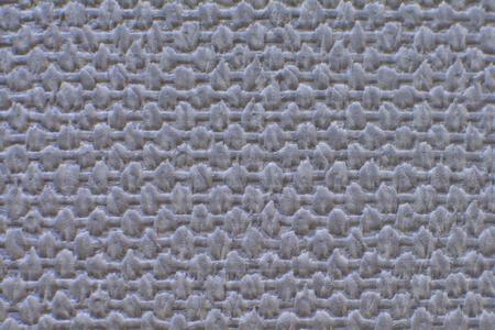 voluminous: voluminous braided pastel grey background closeup Stock Photo