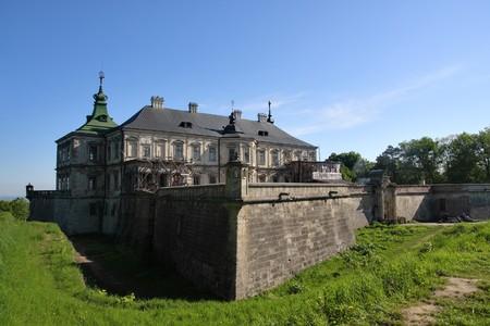 Palace in village Pidgirci, Ukraine photo