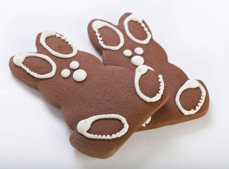Two Gingerbread Bunnies photo