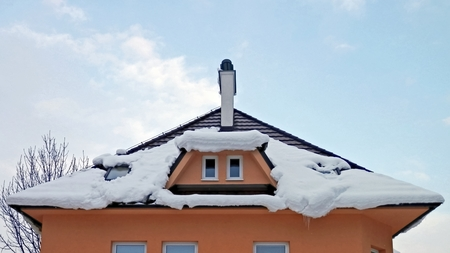 coldness: Photo during the winter at different temperatures acting on the snow. Stock Photo