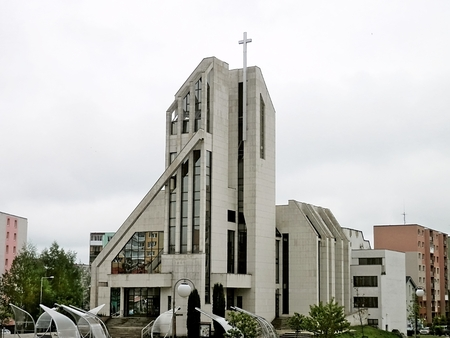 contributed: Church of Saints Cyril and Methodius in Poprad where construction contributed to the faithful and the Bishops Conferences of the USA, Canada and Australia and Austria spol.
