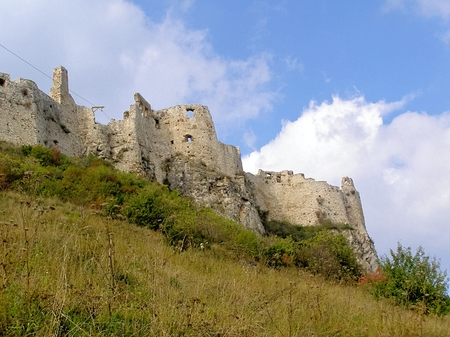 fortification: Slovakia Spissky Castle-Historical extensive fortification as a defensive structure. Stock Photo
