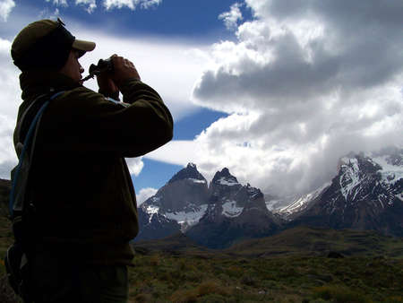 duty: On duty, Torres del Paine National Park (Chile)
