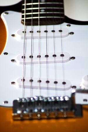 Close up of an electric guitar Stock Photo - 5229709