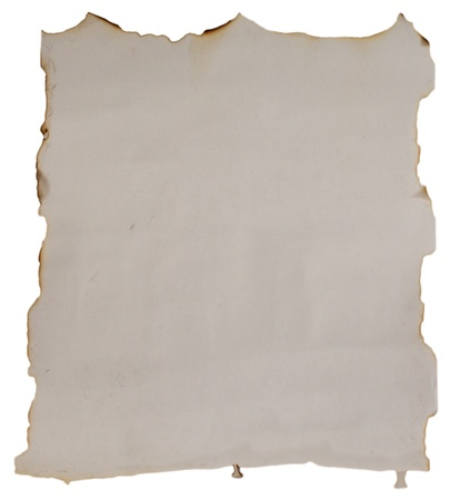 Ancient and ruined paper with imperfections, ideal for text Stock Photo - 9913520