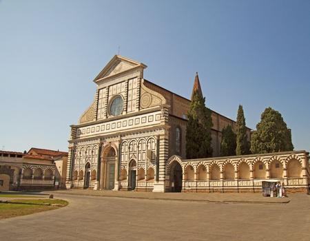 Church of Santa Maria Novella in Florence, Italy