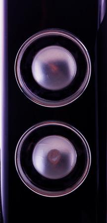amp: Black amp in close up, vertical image