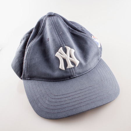 yankees: CASALE MONFERRATO, June 29, 2015: New York Yankees old hat. New York Yankees are the most famous american baseball franchise. Editorial