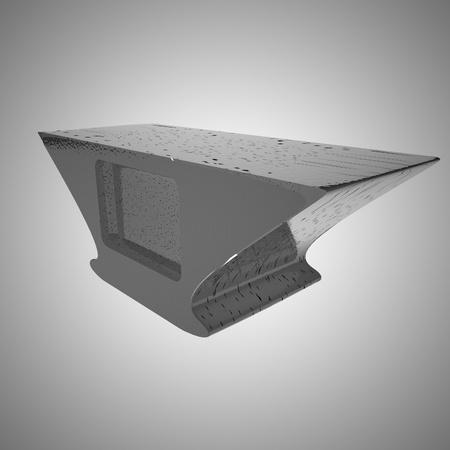anvil: Anvil over gray background, 3d render, square image