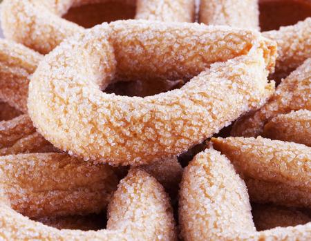 galletas de navidad: Galletas con el azúcar en primer plano la imagen, horizontal