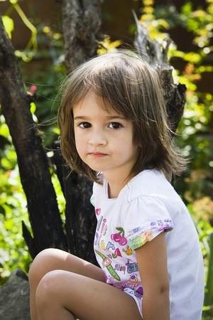 yuck: Little girl portrait