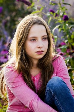 junior high: Teenager portrait Stock Photo