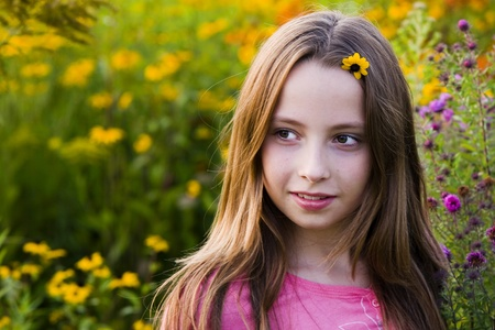 Teenager portrait photo