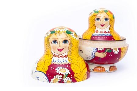 nested: Matreshka Stock Photo