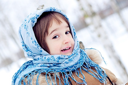 babushka: Winter in Russia
