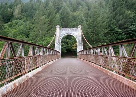alexandra: Alexandra Bridge in Fraser Canyon. BC, Canada Stock Photo