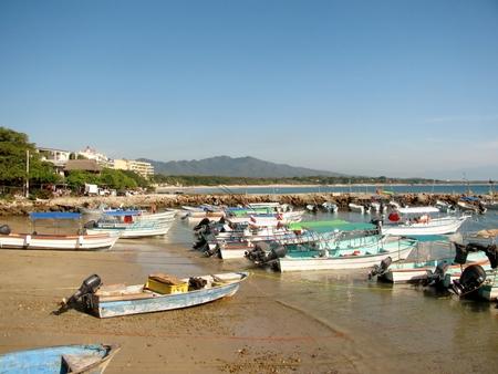 Boats in Punta Mita (Nayarit, Mexico)